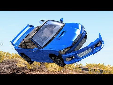 Loss of Control Crashes #5 – BeamNG Drive
