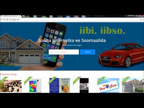 iibgee.com - Suuqa Internetka ee Soomaalida | Somali #1 Free Classifieds Ads | How to Use