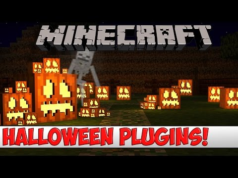 Minecraft Bukkit Plugin - Top 5 Halloween Plugins - Tutorial