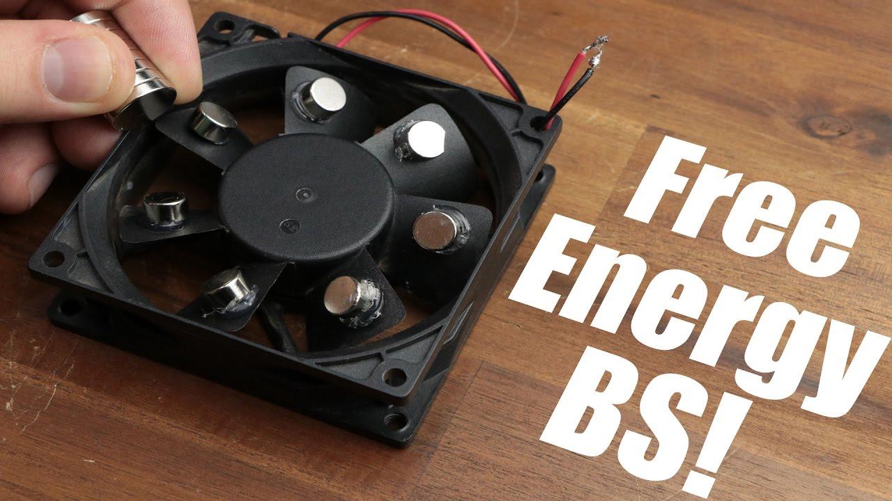 Free Energy BS! || Mag PC Fan, Bedini Motor  YouTube