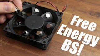Free Energy BS! || Magnet PC Fan, Bedini Motor