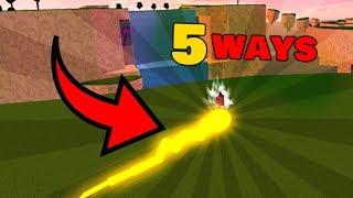 5 Ways to ride a Fireball | Roblox Elemental Battlegrounds
