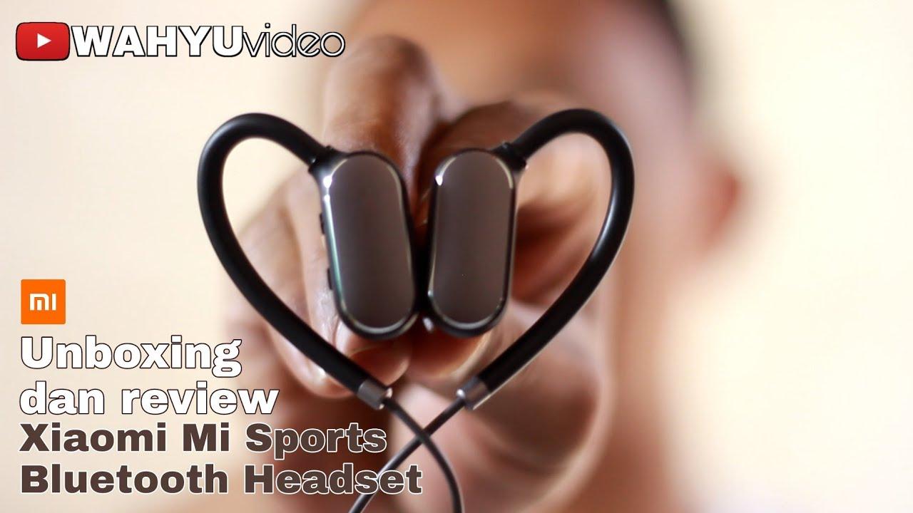 Unboxing dan review Xiaomi Mi Sports Bluetooth Headset Indonesia
