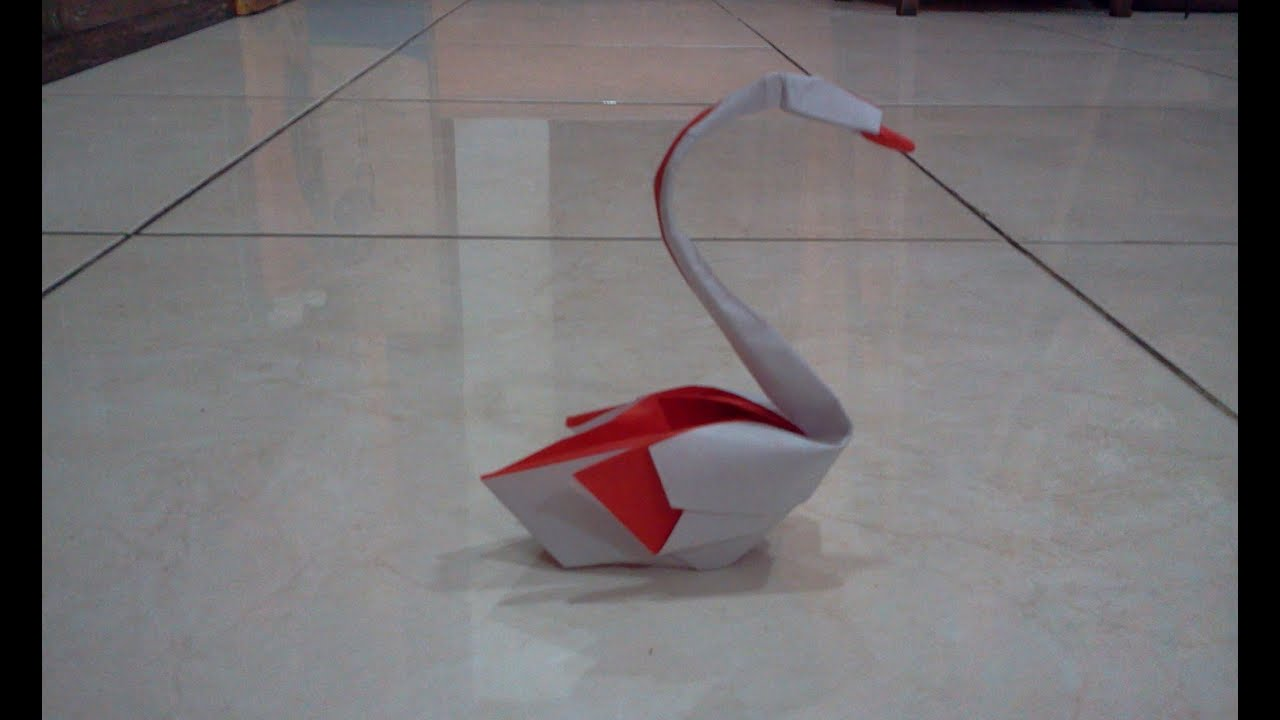 how to make origami swan hoang tien quyet youtube