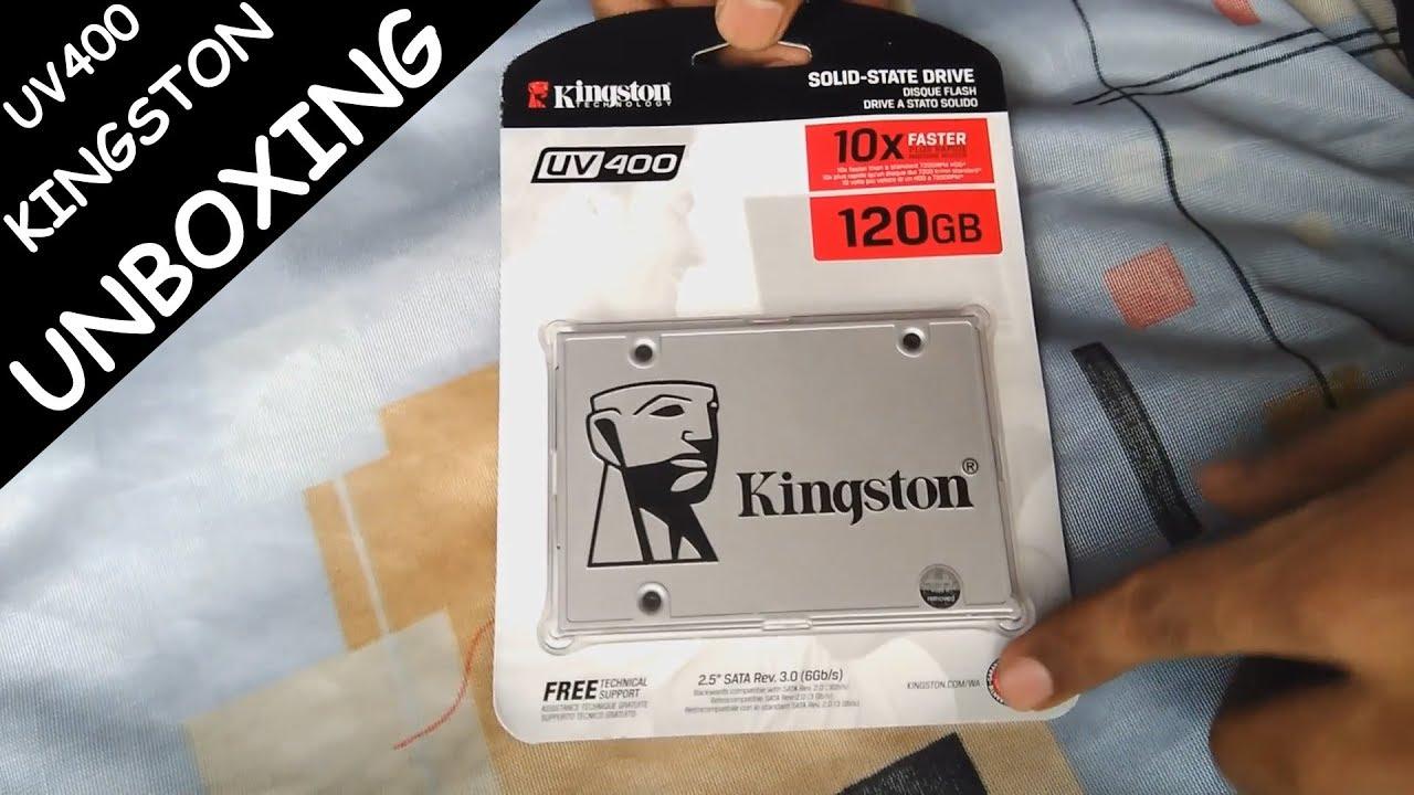 Kingston SSD 120GB UV400 Unboxing Buy From Flipkart & Amazon - YouTube