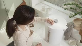 마이미 대용량 무선 진공쌀통 이렇게 사용하세요 :)