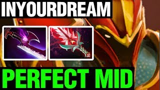 PERFECT MID - inYourdreaM Plays Dragon Knight - Dota 2