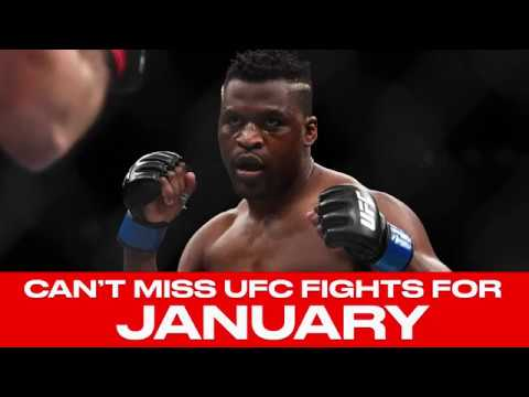 UFC Schedule: Top 10 Must-Watch Fights For Jan  2018