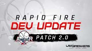 All-Star Content Drop   LawBreakers Rapid Fire Dev Update
