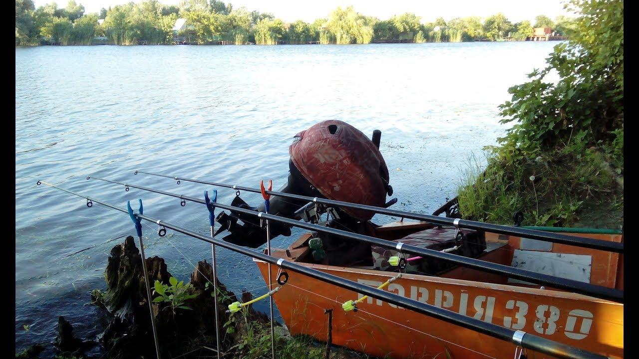 ловля раков с лодки