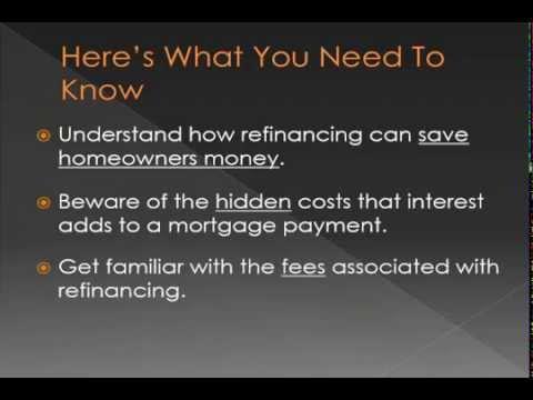 Basics of Mortgage Refinancing