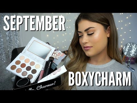 September BOXYCHARM Unboxing! Best Makeup Subscription Box!!
