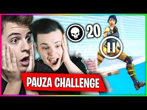 PAUZA CHALLENGE Z JACOB !! EDYCJA W FORTNITE SEZON 8 !!!