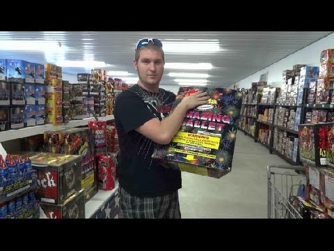 Firework Shopping Trip!