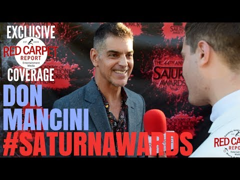 Don Mancini interviewed at the 44th Annual Saturn Awards Red Carpet #SaturnAwards