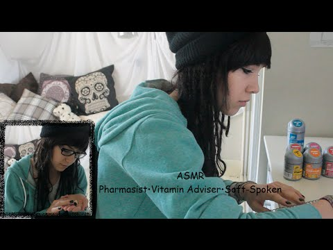 ♥ASMR♥ Pharmacist•Vitamin Adviser•Soft-Spoken