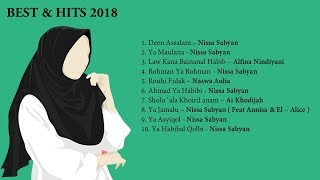 Gambar cover Lirik Lagu Islami | Sholawat Merdu Terbaik Hits di 2018 By Sabyan | Nindiya | Naswa  | Ai Khodijah