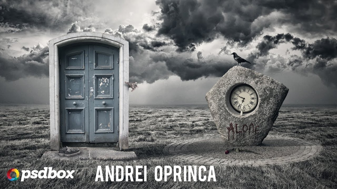 Ideen Zum Zeichnen Surreal Manipulation Tutorial - Alone (psd Box) - Youtube