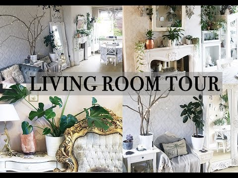 Living room tour, including houseplants -Aesthetic Contradiction