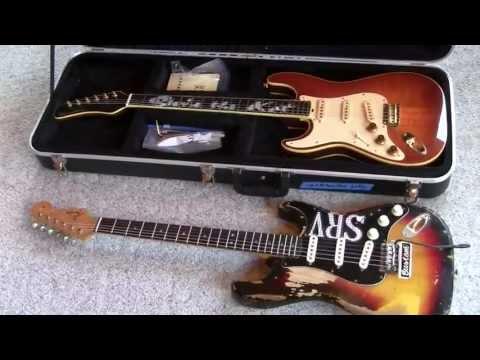 James Hamilton Lefty Hamiltone Guitar 1998 SRV Eddie Vegas www.eddievegas.com