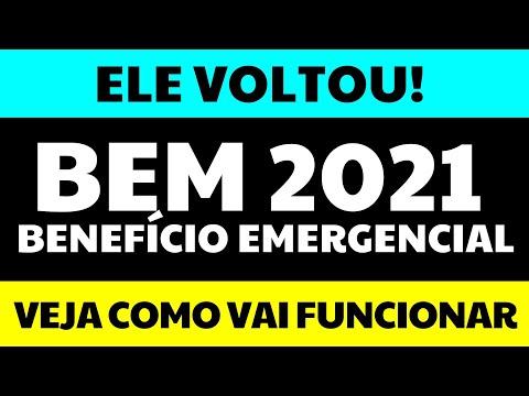 BEM 2021: A VOLTA DO BENEFÍCIO EMERGENCIAL