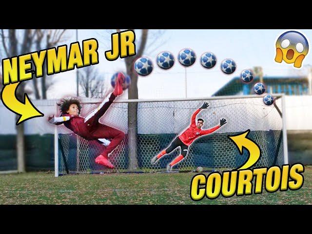 Il nuovo NEYMAR VS COURTOIS - Risultato inaspettato!! 😱😱