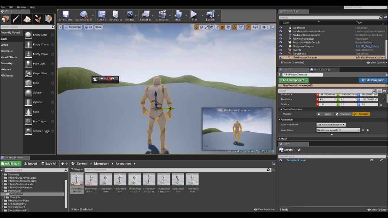 Ue4 absolut beginner tutorial part 12 animation blueprints ue4 absolut beginner tutorial part 12 animation blueprints malvernweather Choice Image