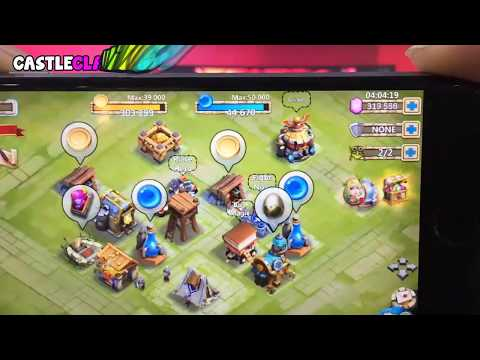 How I Made Over 100,000 Gold And Gems In Castle Clash!
