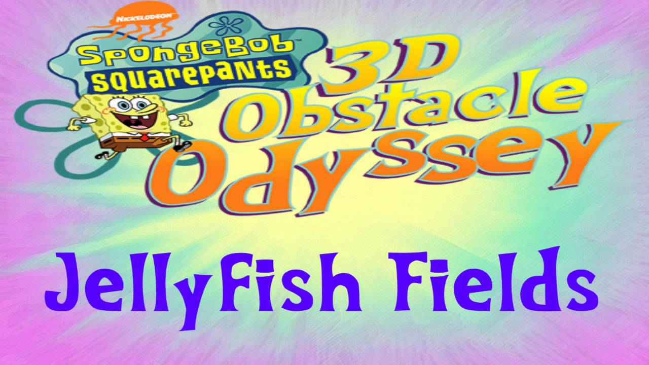 spongebob squarepants 3d obstacle odyssey ost jellyfish