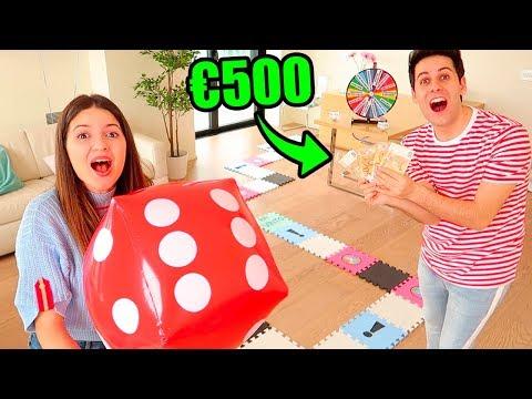 GIOCO DA TAVOLA GIGANTE CHALLENGE!!! Vincitore prende 500€!!!!!