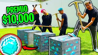 ¡Encontramos DIAMANTES de MINECRAFT en la VIDA REAL! - [ANTRAX] ☣