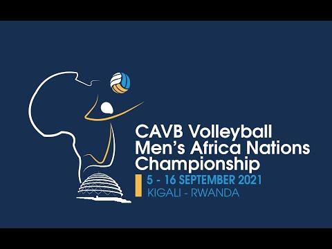 RWANDA VS BURUNDI CAVB Volleyball Men's Africa Nations Championship -  07.09.2021