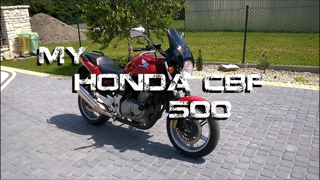 my honda cbf 500 youtube. Black Bedroom Furniture Sets. Home Design Ideas