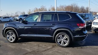 2019 VW Atlas 3.6 SE w/Technology R-Line, panoramic sunroof and 4Motion