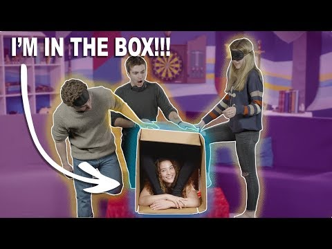 WHAT'S IN THE BOX CHALLENGE (using FEET)