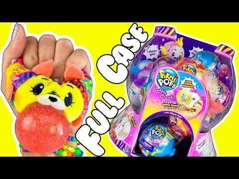 Pikmi Pops Neon Wild Bubble Drops Squishy Plushies!  NEW Pikmi Pops Surprise Toys! - Squishy Videos