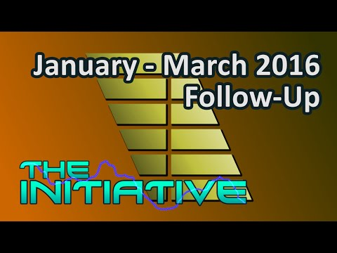 The Initiative - January - March 2016 Follow-Up Analysis