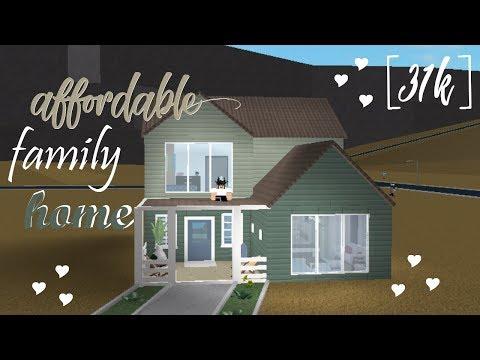 [BLOXBURG] No Advanced Placement, Cheap Family Home (Speedbuild)