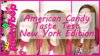 American Candy Taste Test [New York Edition] | Rachybop
