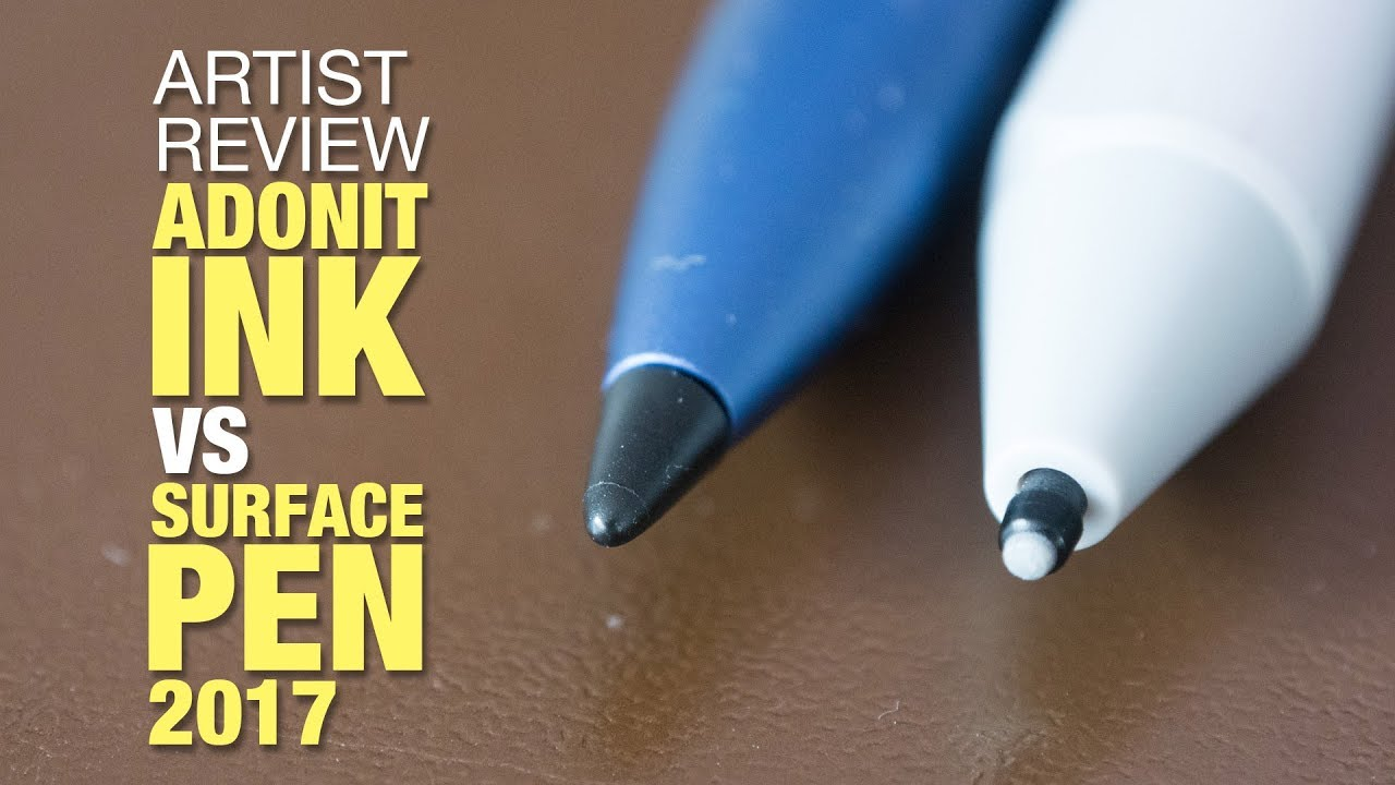 Artist Review: Adonit Ink Stylus, the Surface Pen alternative