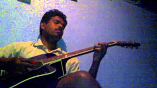 thoovanathumbikal theme music on guitar