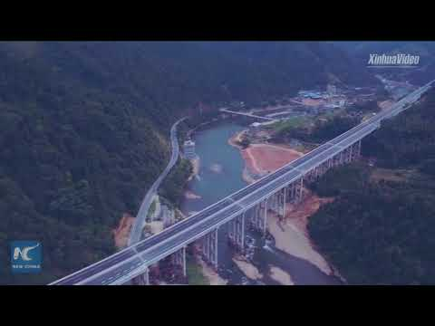 """""""Most beautiful"""" highway in Guangxi, China opens to traffic"""