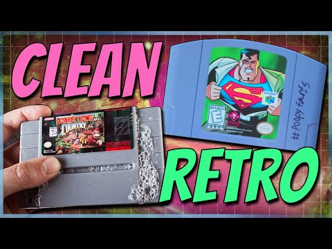 How To Clean Classic Games