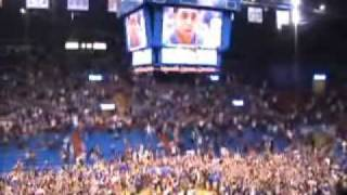 Kansas Memphis from Allen Fieldhouse NCAA Championship thumbnail
