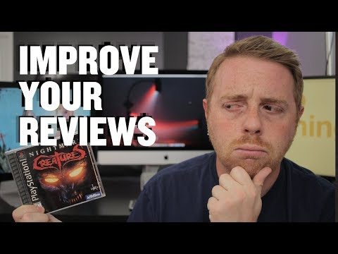 How To Review Games On YouTube