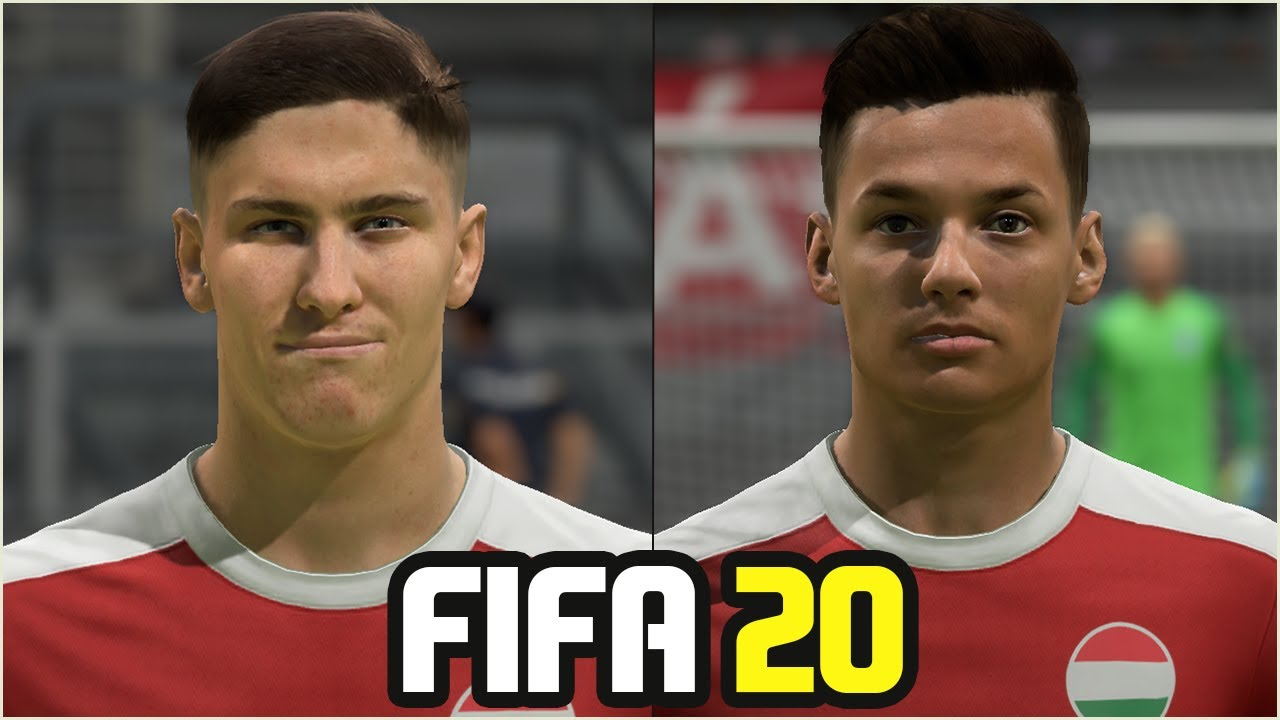 FIFA 20 | ALL HUNGARY PLAYERS REAL FACES
