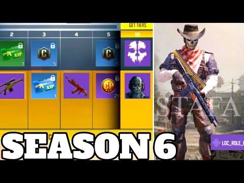 Season 6 Battle Pass Rewards New Characters And Epic Gun Skins