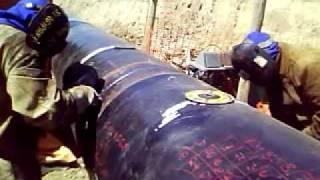 Processo de Soldagem GASODUTO parte 2