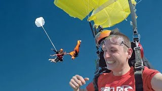 Wingsuit vs Tandem Skydive