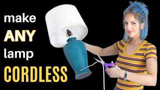 3 EASY Ways t๐ Make a CORDLESS Lamp